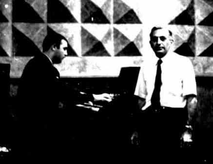 Babik at Piano with Fred Sharpe